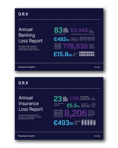 Annual loss report cover landing page