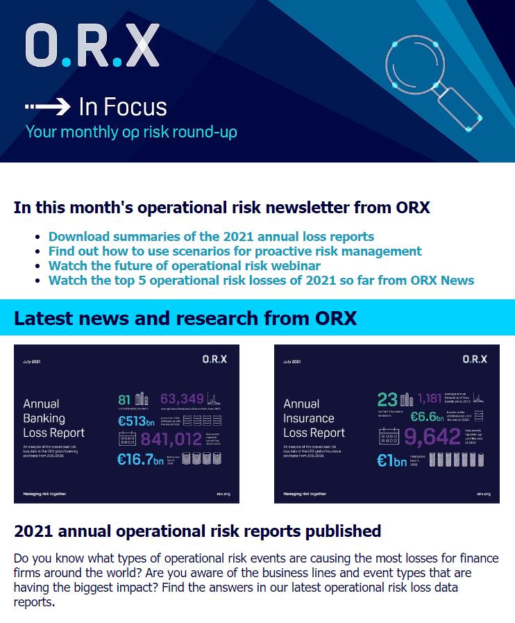 ORX In Focus August 2021