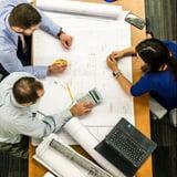 People at a workshop meeting