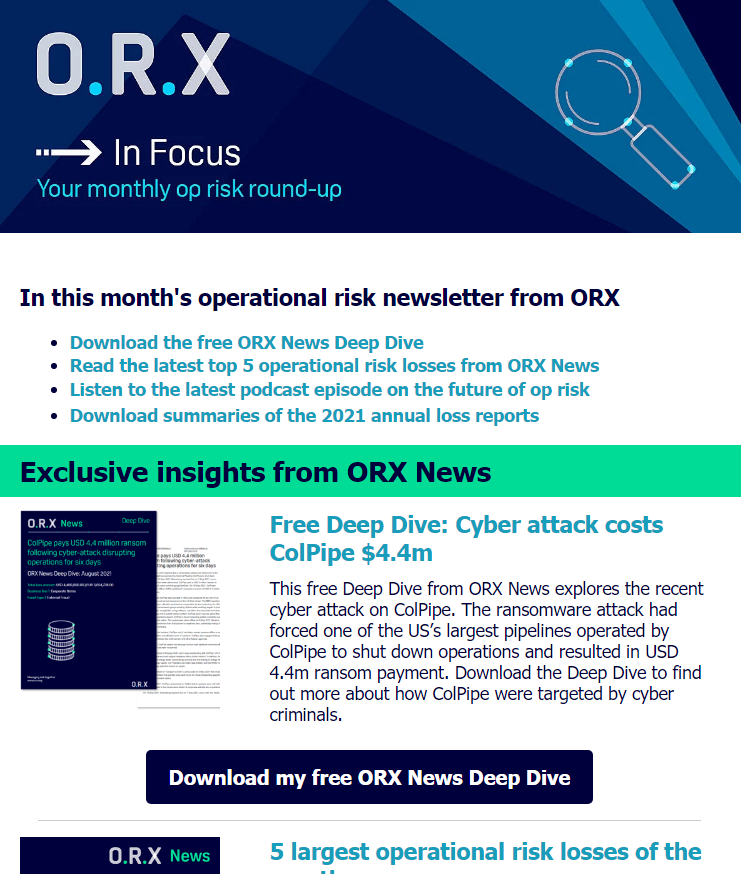 ORX In Focus 2021